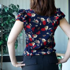 1001 Pendrell Blouse by sewaholicpatterns