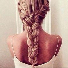 hair braid, how to style thick hair, hair styles, different braids how to, how to do different braids, thick hair hairstyles, hair brand, how to do different hairstyles, french braid