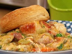 Chicken and Biscuits Slow Cooker Meal