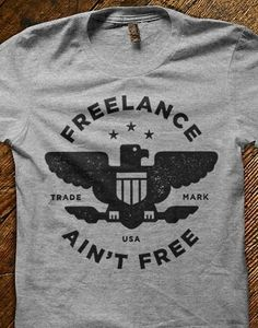 Wings logo, graphic designers, true facts, aint free, true words, tee shirts, freelanc aint, true stories, style fashion