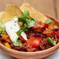 Vegetarian Chilli (Jamie Oliver)