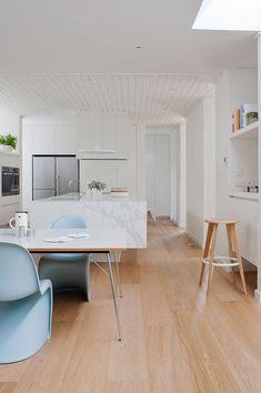Muebles de diseño en colores pastel