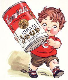 Campbell's soup Kids vintage