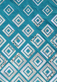 DiamondsintheDeep5 by Bonjour Quilts, via Flickr