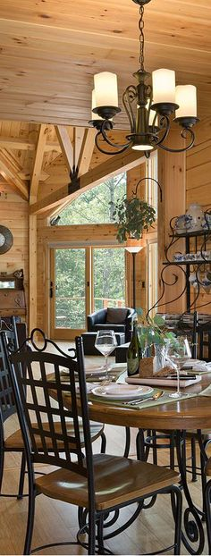 Coventry Log Homes #loghomes coventri log, log cabin