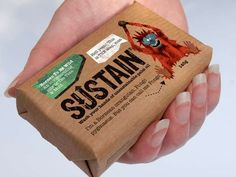 Sustain Soap Packaging Features Ecstatic Endangered Species