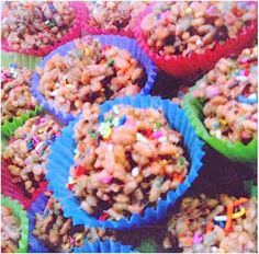 cake batter rice crispies