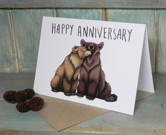 Bear Couple Illustra