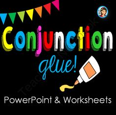 Conjunctions PowerPoint and Worksheets from Lindy du Plessis on TeachersNotebook.com -  (51 pages)  - This is a highly visual, interactive and fun introduction to conjunctions. Students discover how to identify conjunctions in sentences and how to combine sentences using coordinating conjunctions