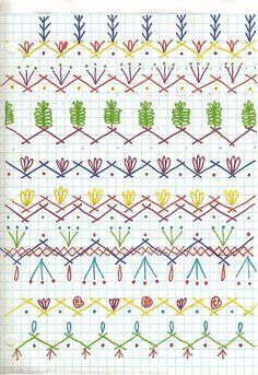 Seam Designs for crazy quilt