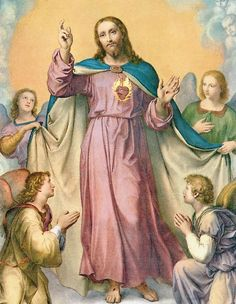 Heart of Jesus, I implore, that I may ever love Thee more and more.