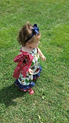 Little Girls Jumpsuit with Ruffles and by MYSWEETCHICKAPEA on Etsy, $65.00