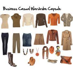 business casual capsule