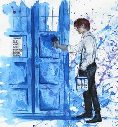 Tardis blue by ~Alex-Soler on deviantART