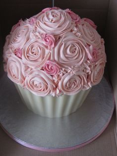 Giant Cupcake Bouquet