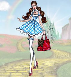The Wizard of Oz 75th Anniversary: Dorothy by Hayden Williams