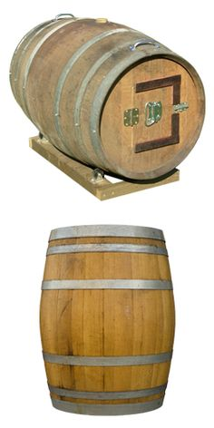 Wine Barrel Composter! From TerraCycle- they upcycle and recycle non-recyclable items.