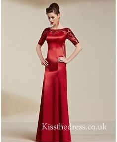 Red prom dress for m