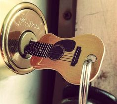 Guitar key - I know somebody who would love this.