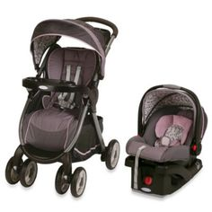 Graco® FastAction™ Fold Click Connect™ Travel System in Jazmin™ - buybuyBaby.com