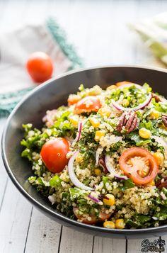 Kale Quinoa Corn Sal