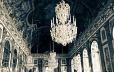 One Kings Lane Hall of Mirrors - Versailles, France 30x45 Fine Art Photograph - French Decor