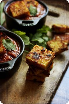 Paneer Tikka Masala #recipe   Recipe ~ http://www.monsoonspice.com/2012/06/paneer-tikka-masala-recipe-how-to-make.html