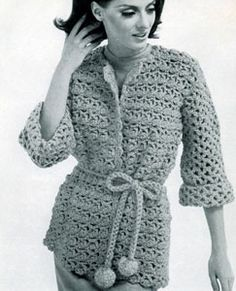 Free Crochet Zen Jacket Pattern : Free Pattern jackets/coats on Pinterest Drops Design ...
