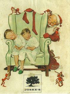 Norman Rockwell Christmas.