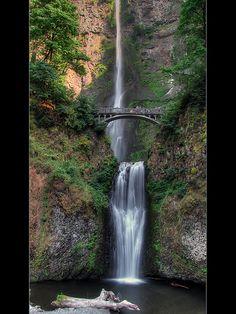 Multnomah Falls - HDR, Oregon