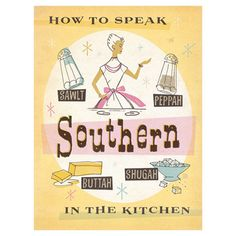 Found it at Wayfair - Southern Kitchen Wall Art by Anderson Design Group