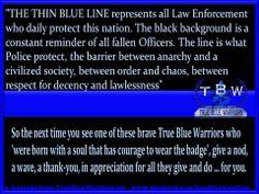True Blue Warriors: Thin Blue Line