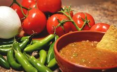 Slow Cooker Salsa - Made with Fresh Vegetables! www.GetCrocked.com