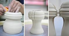 A Pair of Kissing Porcelain Vases by Johnson Tsang  http://www.thisiscolossal.com/2014/08/a-pair-of-kissing-porcelain-vases-by-johnson-tsang/