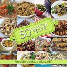50 Favorite Quinoa Recipes