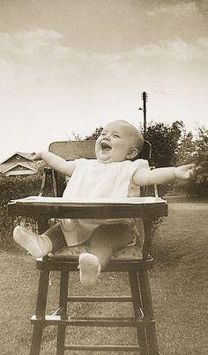 +~+~ Vintage Photograph ~+~+  Pure joy!