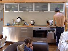 yurt IKEA kitchen by Mi xx, via Flickr