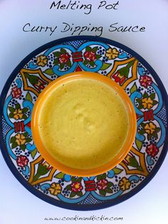 copycat recipe for melting pot's curry dipping sauce