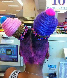 Ice cream hair