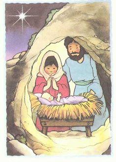 Jesus Is Born    Luke 1:26-33, 2:1-7