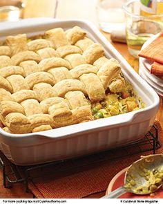 Chicken Pot Pie Casserole | Cuisine at home eRecipes
