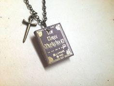 Mini The Three Musketeers / Alexandre Dumas by MiniatureLiterature, $18.00
