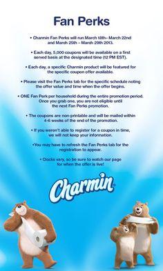 Saving 4 A Sunny Day: Get Your Charmin Freshmates Coupon