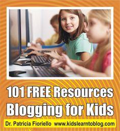 101 Blogging for Kids Resources