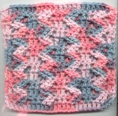 Zipper Square: free pattern