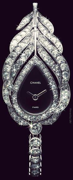 The Millionairess Of Pennsylvania ....Chanel Timepiece