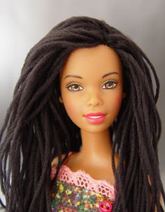 Barbie, with locs.  Awesome.