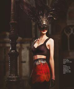Duchess Enya Bakunova By Lior Susana For Fashion & Beauty Milan#3 - 3 Sensual Fashion Editorials   Art Exhibits - Anne of Carversville Wome...