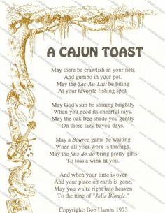A Cajun Toast
