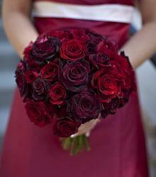 Wedding Bouquet: Red Rose Bouquet